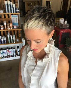 Perfect little pixie with a taper! Thank you Meaghann!