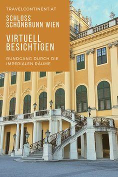 Das #Schloss Schönbrunn #Wien ist UNESCO Weltkulturerbe. Ich zeige dir wie du die imperialen Repräsentationsräume #virtuell besuchen kannst, wie Kaiser Franz Joseph und Kaiserin Sisi lebten. #sehenswürdigkeiten #worldheritage #citytrip Kaiser Franz, Multi Story Building, Mansions, House Styles, Travel Inspiration, Mansion Houses, Villas, Luxury Houses, Palaces
