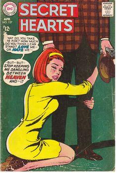Secret Hearts 1968 Comic Book DC National Comics a by embrace123, $9.00