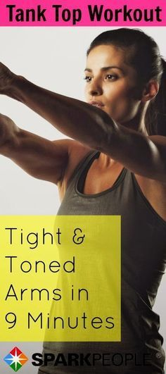 Tank top workout for tight arms | Posted By: NewHowToLoseBellyFat.com