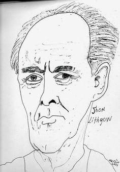 CARICATURAS DELBOY: JOHN LIHTGOW