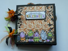 Halloween Mini Album | Brandi Banks