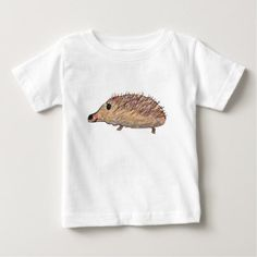Hedgehog Baby T-Shirt - cyo customize create your own #personalize diy