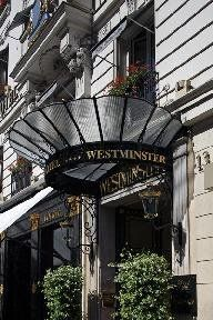 The Westminster hotel is a deluxe hotel of 102 luxurious air-conditioned rooms and suites entirely renovated and individually decorated with antique furniture/ marble fireplace and antique clocks. the exceptional cuisine of christophe moisand and the service offered by le celadon are celebrated in the most famous guides to fine dining. the duke s bar offers light meals and cocktails in an english ambience with its immense fireplace replicating the gothic style of westminster a...