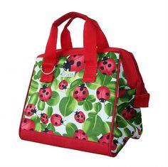 Sachi Insulated Lunch Bag Style 34 - Ladybug