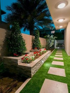 60 Awesome Side Yard Garden Design Ideas For Summer is part of Diy backyard landscaping - As you're making your gardening plans it's easy to forget about side y Side Yard Landscaping, Backyard Patio Designs, Landscaping Ideas, Backyard Ideas, Florida Landscaping, Modern Landscaping, Diy Patio, Outdoor Ideas, Landscaping Shrubs