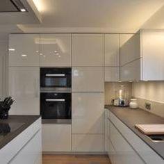 Beispiele für Küche ohne Griffe | Küchen | Pinterest | Küche ohne ...