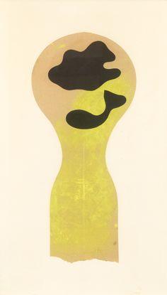 HANS ARP. Denkmal für eine Wolke und einen Fisch. Collage un Tristan Tzara, Jean Arp, Zurich, Abstract Shapes, Abstract Art, Sophie Taeuber, Beatrice Wood, Rene Magritte, Max Ernst