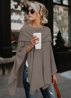 Womens Plus Size Long Tunic Shirt 2020 - Winter Outfits - Women's Fashion Mode Outfits, Fall Outfits, Casual Outfits, Fashion Outfits, Fashion Trends, Fashion Clothes, Dress Fashion, Clothes Women, Fashion Games