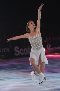 Katia Gordeeva during Pandora Unforgettable Holiday Moments on Ice.