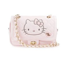 Hello Kitty Quilted Shoulder Bag: Kawaii Pink Collection