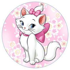 Cute Drawing Images, Cute Drawings, Lama Animal, Aristocats Party, Minnie Mouse Party Decorations, Hello Memes, Marie Cat, Disney Cats, Blue Nose Friends