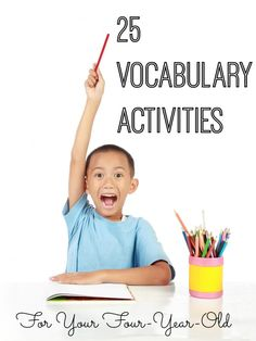 25 Vocabulary Activities for Your 4-Year-Old