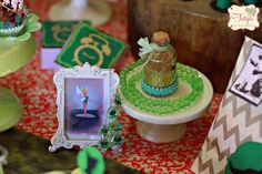Peter Pan Themed Birthday Party via Kara's Party Ideas KarasPartyIdeas.com Printables, tutorials, supplies, desserts, cake, banners, favors, and more! #peterpan #PeterPan #peterpanparty #peterpanbirthday #neverland #captainhook #peterpanpartyideas #peterpancake (30)