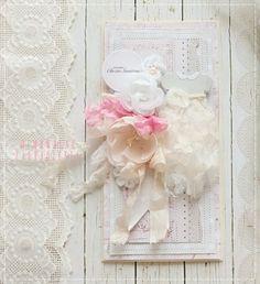 Mimowolne Zauroczenia, kartka dla dziewczynki, kartka ręcznie robiona, na Chrzest Św. , handmade card,