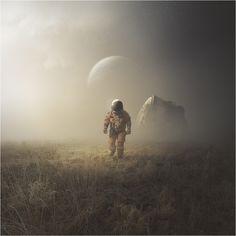 Imagenes surrealista del espacio