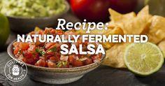 Naturally Fermented Salsa