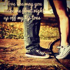 Jayme Dee tip toes lyrics