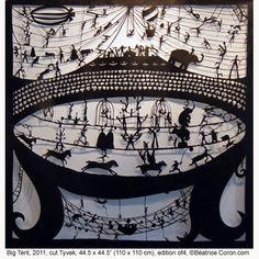 Beatrice Coron, an amazing fellow paper cut artist.