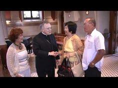 Cardinal Rigali & Archbishop Chaput  visit the St. John Neuman Shrine