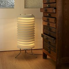 This is the Maija floor lamp version based on the original 1955 design of Ilmari Tapiovaara. Its translucent white glass diffuser helps to nuance and focus t. White Floor Lamp, Led Floor Lamp, Contemporary Floor Lamps, Contemporary Design, Santa Cole, House Inside, Glass Diffuser, Light Table, Modern Lighting