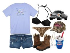"""""""Midnight adventures swimming & DQ"""" by gillianheather ❤ liked on Polyvore featuring Aerie, Ariat, American Eagle Outfitters, Southern Tide, Melissa Odabash, Dorothy Perkins and Asprey"""