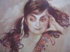 Kees van Dongen - La poétesse Anna de Noailles