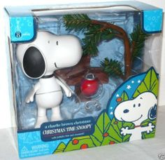 """Peanuts A Charlie Brown Christmas 6"""" Snoopy Figure with 8"""" PATHETIC TREE & Red Bulb Ornament by Round 2 Toys. $24.99. Produced by Round 2 Toys back in 2007. Very rare playset!. Tree comes with removable red bulb ornament.. Ages 8+. Set includes deluxe 6-inch Snoopy action figure and 8-inch Pathetic Tree.. Peanuts Charlie Brown Christmas Santa Snoopy Deluxe Figure With Santa suit, bell and Woodstock. Save 58%!"""