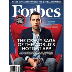 Be sure to check the November 24 issue of @Forbes magazine to learn more about @Tinder and CEO @SeanRad ... http://instagram.com/dearmrsd