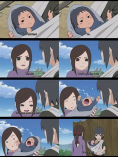The itachi backround episodes are just adorable! But very very sad cause you know wat happens to them