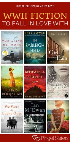 WWII Historical Fiction // 16 Books You'll Be Dying to Share with a Friend // historical fiction world war 2 books WWII historical fiction // Best Historical Fiction Books, Historical Quotes, Best Fiction Books, Historical Romance, Book Club Books, Book Lists, Book Clubs, Best Books To Read, Good Books