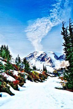 Mount Rainier Colours, USA