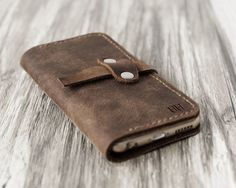Personalized Leather IPhone 5 Case / iphone 5 by ExtraStudio