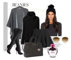 """""""*Beanies - contest* - Set #3"""" by sassy-elisa ❤ liked on Polyvore featuring Soia & Kyo, Repeat Cashmere, Christian Louboutin, URBAN ZEN, McQ by Alexander McQueen, Michael Kors, Moschino and Ray-Ban"""