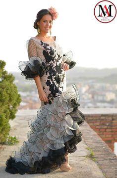 Diseño de Amparo Pardal #ModaAndaluza