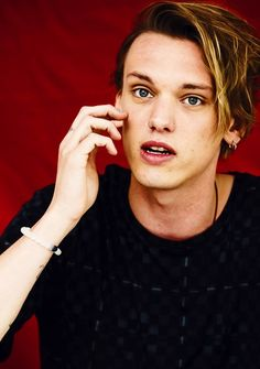 Jamie Campbell Bower at Dolly magazine shoot