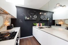 Espelho na cozinha: boa idéia ou não? #cozinha #espelhos