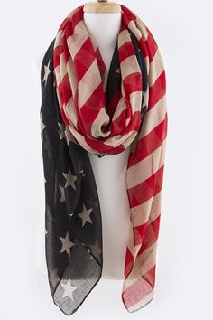 USA America scarf
