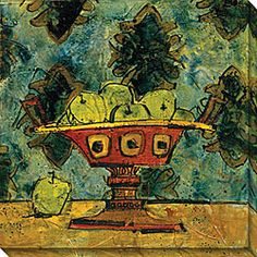 @Overstock - Add an interesting piece to your wall with this attractive oversized canvas art, Fruit in Fancy Ceramic, by Olivia Maxweller. This contemporary limited-edition gallery-wrapped piece features abstract fruits, making it ideal for kitchens or dining rooms.http://www.overstock.com/Home-Garden/Olivia-Maxweller-Fruit-In-Fancy-Ceramic-I-Oversized-Canvas-Art/3908491/product.html?CID=214117 $99.99