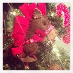 Christmas Horse by Ruffles and Sweets, made in the USA