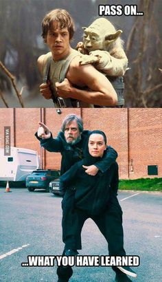 Same Jedi training - Star Wars Funny - Funny Star Wars Meme - - guess who doesn't have any academic classes today The post Same Jedi training appeared first on Gag Dad. Star Wars Witze, Star Wars Jokes, Star Wars Rebels, Funny Videos, Funny Memes, Hilarious, Fun Funny, Memes Humor, Funny Stuff