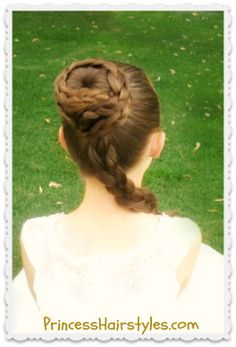 Star Wars Inspired Princess Leia Hairstyle Tutorial