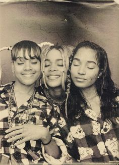 TLC .  Lisa Left Eye,  T-boz and Chilli