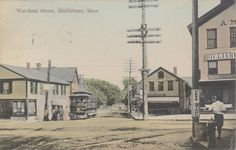Middleboro. Wareham street. Local History, My Town, Old West, Massachusetts, New England, The Past, Street, Places, Roads