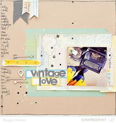 Vintage Love {Main Kit Only} by maggie holmes at Studio Calico