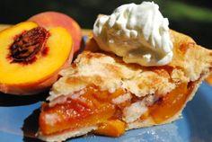 Chef Darin's Southern Peach Pie - Savannah, GA