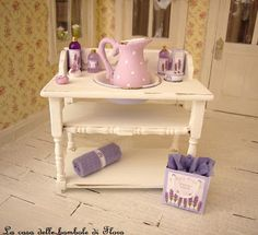la casa delle bambole di flora: Le mie miniature