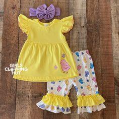 Newborn Toddler Kids Baby Girl Childrens Short Sleeve Easter Folk Art Eggs Print Romper Skirt Ruffle