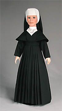 School Sisters of Notre Dame. Cathedral of Mary Our Queen Lower School and Notre Dame Preparatory High School. Nun Catholic, Nun Outfit, Nun Costume, Nuns Habits, Bride Of Christ, Pretty Dolls, Different Styles, Notre Dame, Doll Clothes