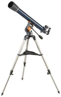 Celestron 21061 AstroMaster 70 AZ Refractor Telescope: http://www.amazon.com/Celestron-21061-AstroMaster-Refractor-Telescope/dp/B000MLHMAS/?tag=cheap136203-20